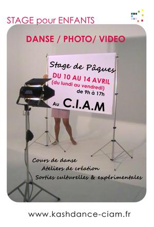 STAGE pour enfants de DANSE / PHOTO / VIDEO