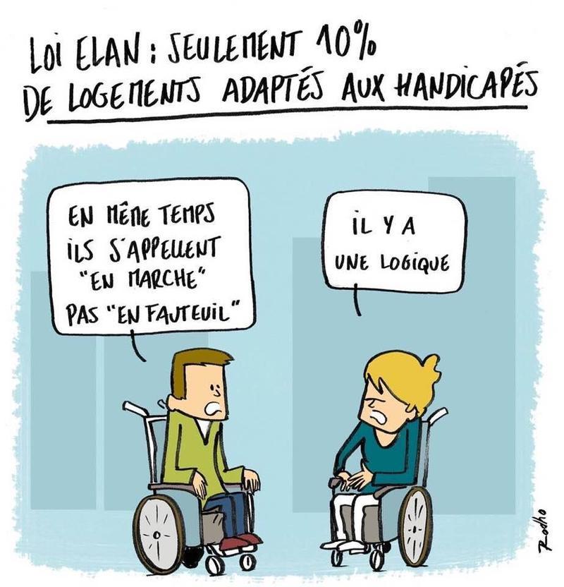 Contestation Loi Elan 90 De Logements Accessibles En Moins