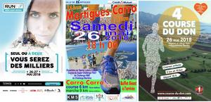 26-26/05 Marathon du Mont St Michel, Martigues-Carro, Course du Don
