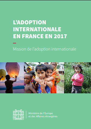L'adoption internationale en France en 2017