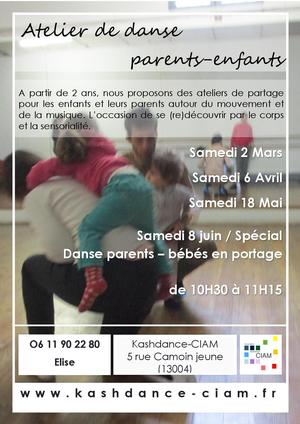 Ateliers de danse parents-enfants
