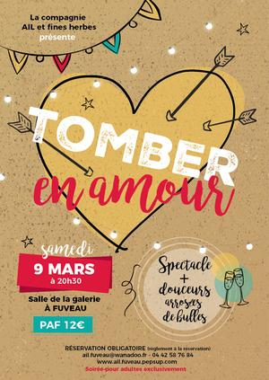 "SPECTACLE ""CAFE THEATRE"" - TOMBER EN AMOUR"