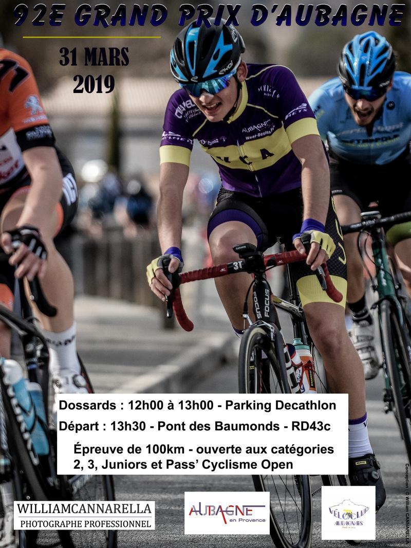 Calendrier Course Cycliste Professionnel 2020.Grand Prix D Aubagne Cycliste 2019 Evenement Velo Club