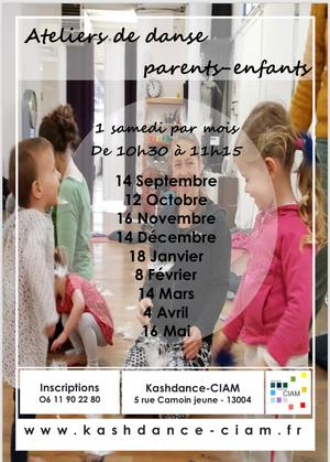 Ateliers de danse parents - enfants