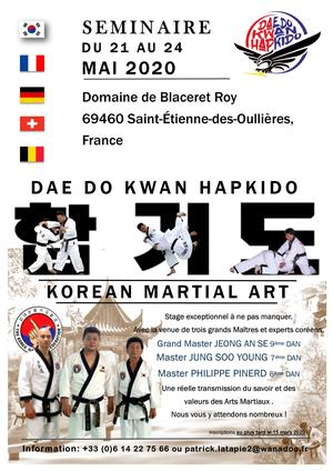 HAPKIDO - Stage exceptionel