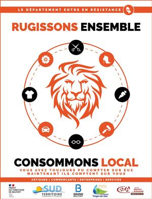 RUGISSONS ENSEMBLE, CONSOMMONS LOCAL