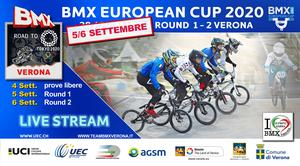 COUPE D'EUROPE BMX 2020 - MANCHES 1/2 VERONE ITALIE