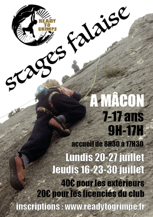 Stages Falaise 2