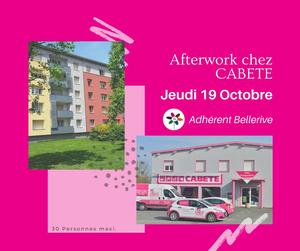 After work - CABETE Trévenans 19h