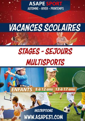Stage Multisports Octobre
