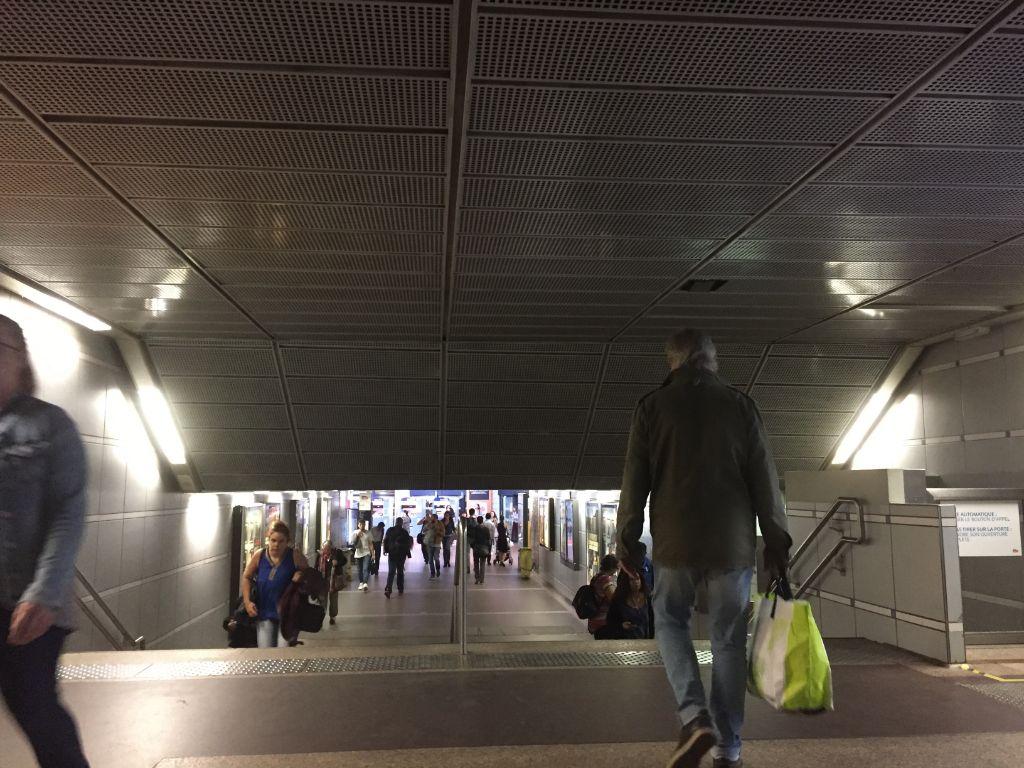 accès metro