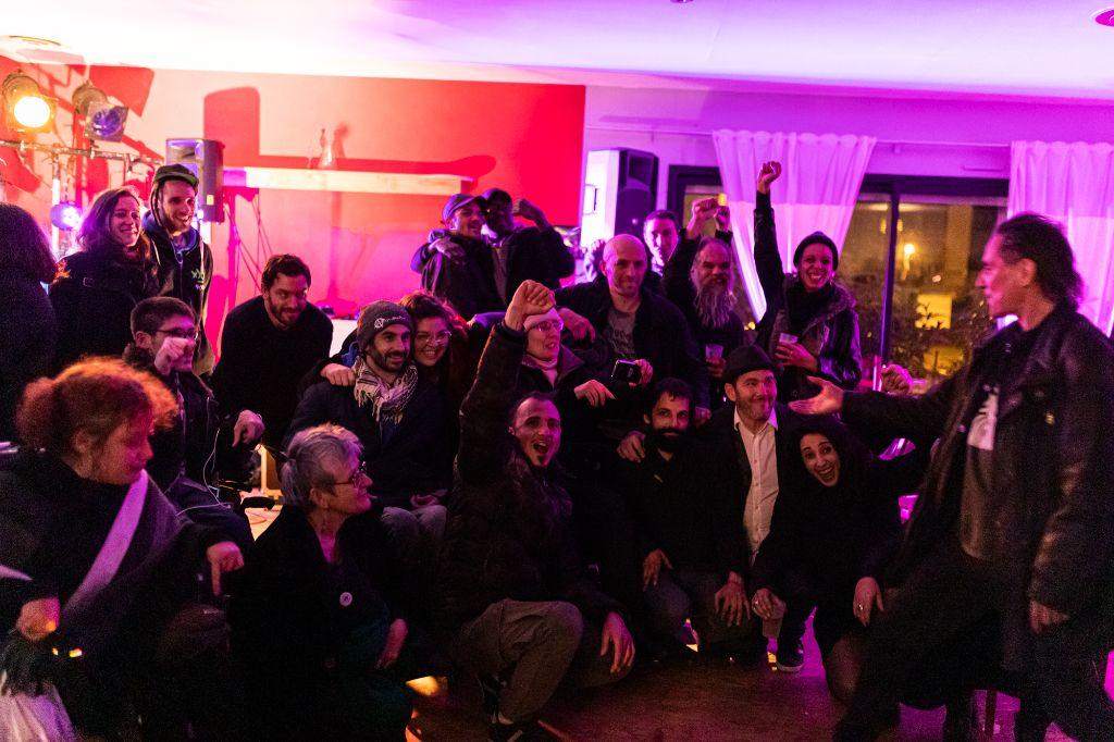 les musiciens et les militants et organisateurs (une partie)