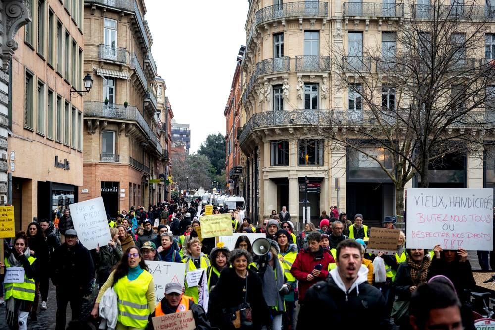 marche rue Lafayette