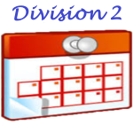 Calendrier Division 2 Dames