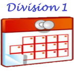 Calendrier Division 1 Dames