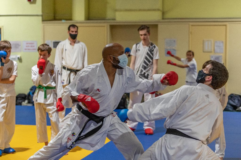 Stage Kumite avec Olivier Baudry