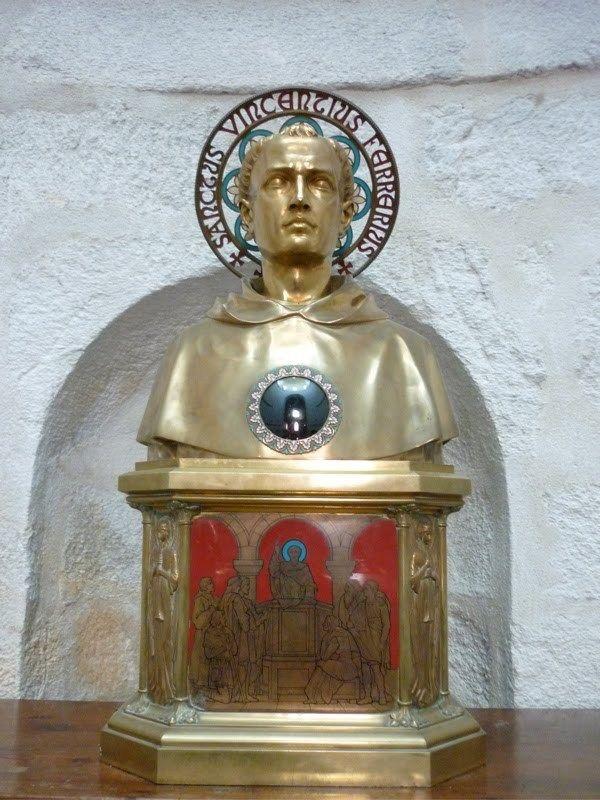 Buste reliquaire de St Vincent, Cathédrale de Vannes