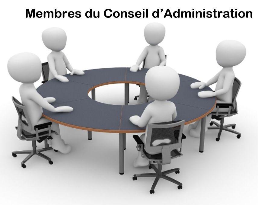 Membres du conseil d'administration