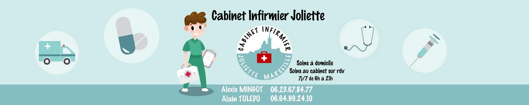 Infirmier à Domicile Marseille Joliette 9 et 9