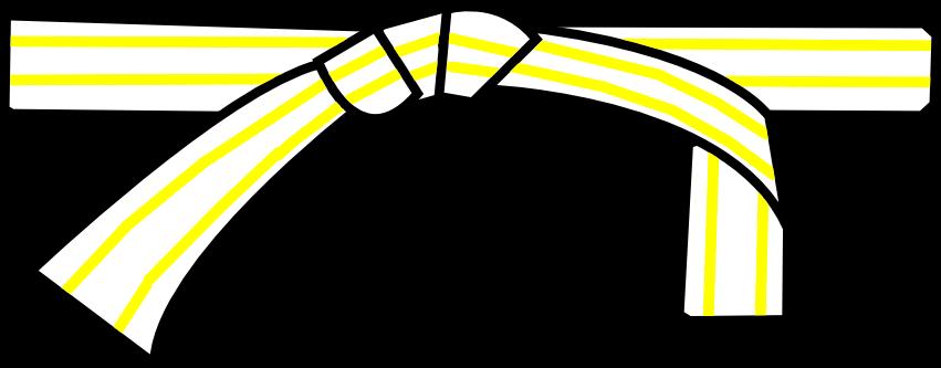 ceinture blanche deuxième degré