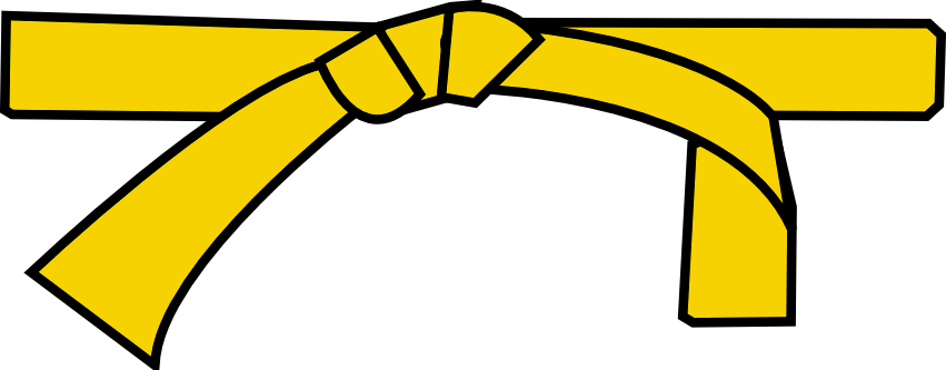ceinture jaune