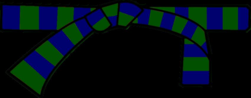 ceinture verte-bleue